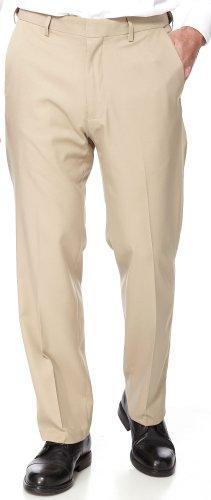 Haggar Flex Gabardine Pants 34W x 29L Khaki