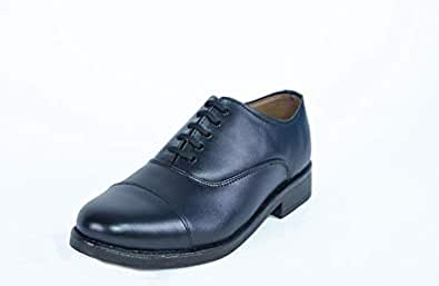 AVERY Executive, Work and Dress Shoes, Round Toe, Black Color