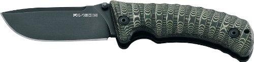Fox Knives FX-130 MGT Pro-Hunter Folding Knife, Green
