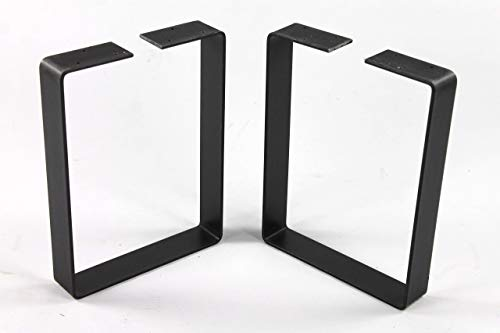 (Powdercoated Steel Bench Legs-Choose Your Height and Width)