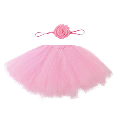 Baby And Mom Carrier Costumes Halloween (Coerni Premium Newborn Baby Girls 0-4 Months Lovely Dress Tutu Photo Prop - 7 Color)