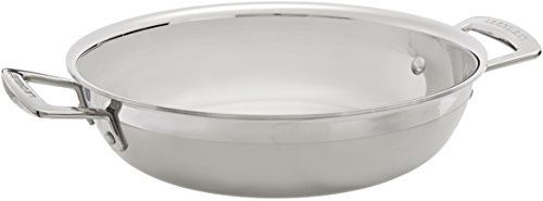 Le Creuset Tri-Ply Stainless Steel 2-1/2-Quart Open (Le Creuset Stainless Steel Casserole)