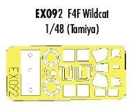 Eduard Masks 1:48 - F4f Tamiya Kit