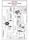 Paul Matt Scale Airplane Drawings, Volume 1