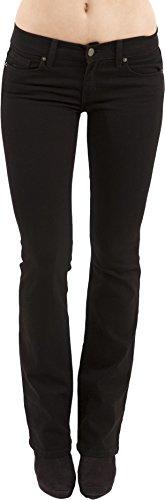 Lightweight Flare Leg Jeans (Eunina Women's Flare Leg Stretch Denim Jean, Boot Cut, Size 13,)