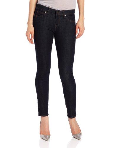 Cotton Rich Skinny Jeans (Rich & Skinny Jean Women's Ankle Peg Jean, Indigo Rinse, 24)