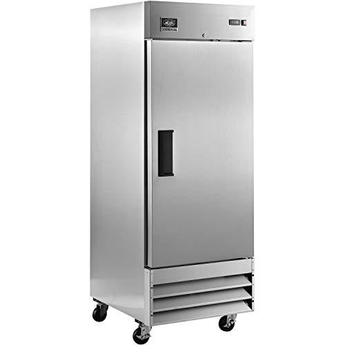 Reach-in Refrigerator, 1 Door, 29'Wx32.2″Dx82.53″H, 23 Cu. Ft.