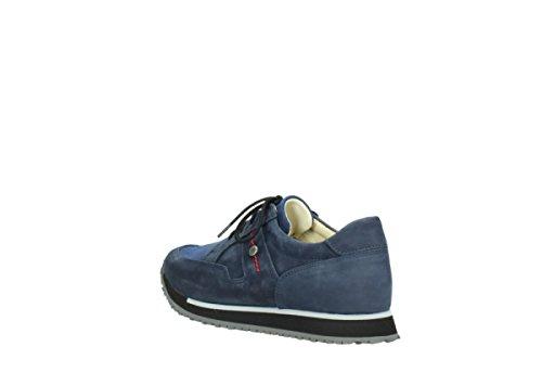 Dark Blue e Trainers Walk 20800 Comfort Nubuck Wolky PwqSBpZw