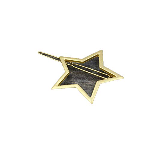 1 Pc Fashion Hairpin Women Girl Star Round Triangle Shape Women Crystal Hair Clips Barrettes Hair Styling -