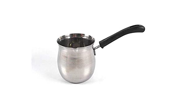 Tredoni 450ml Finjan - Cafetera de acero inoxidable con estufa - Cafetera turca Cezve: Amazon.es: Hogar