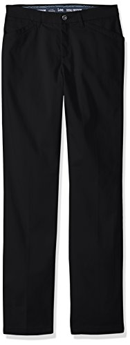 Tall Womens Clothing (Lee Women's Size Motion Series Total Freedom Pant, Black, 18 Tall)