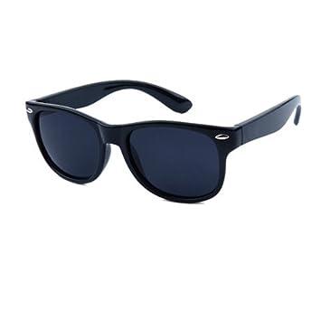 KLXEB Niños Remaches Clásicas Gafas De Sol Polarizadas Tac Flexible Marco De Seguridad Chicas Moda Gafas
