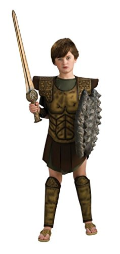 Boys Clash Of Titans Perseus Kids Child Fancy Dress Party Halloween Costume, L (12-14) ()