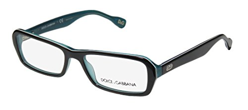 Dolce Gabbana 1225 Womens/Ladies Designer Full-rim Flexible Hinges Eyeglasses/Glasses (52-16-135, Black / - Dolce Goggles And Gabbana