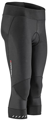 - Louis Garneau Women's Optimum Cycling Knickers, Padded and Breathable for All-Weather Riding, Black, Large