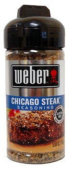 Weber Chicago Steak Seasoning, 5.5 oz (Pack of 8). Item is a 5.5 oz. - Ach Food