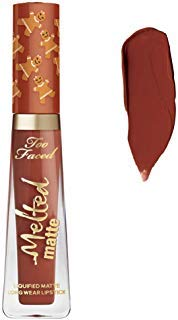 Too Faced Limited Edition Melted Matte Gingerbread Girl Liquified Matte Lipstick 0.23 oz ()