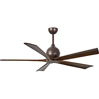 Amazon Com Matthews Ir5 Tb Wa 60 Irene 60 Quot Outdoor Ceiling Fan With Remote Amp Wall Control 5