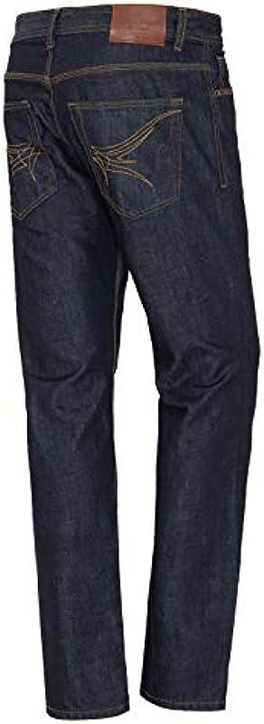King Kerosin Denim 5 Pocket Jeans Washed Robin jeansy męskie: Odzież