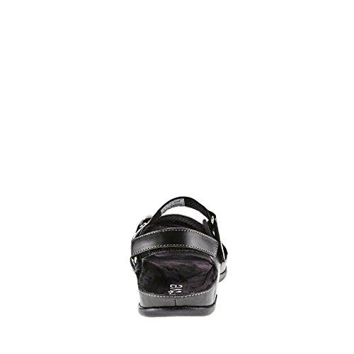 Sandalias ortopédicas Montana fáciles de poner negro