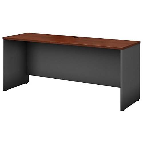 Bush BBF Series C 72W Credenza - Desk Shell in Hansen Cherry by Bush