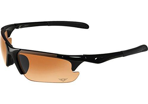 Maxx Sunglasses Rough Rider Black #11 HD Amber Lenses - Sunglasses Maxx Golf