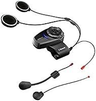 Sena 10S-01 10S Sistema de Comunicación Bluetooth para Motocicletas, Color Negro