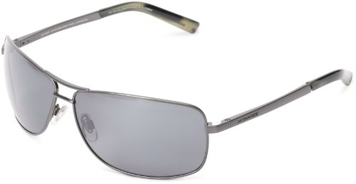 Pepper's Kona MP371-4 Polarized Aviator Sunglasses,Gunmetal,One - Kona Sunglasses