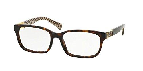 Coach Eyeglasses (Coach Women's HC6062 Eyeglasses Dark Tort/Dark Tort Sand Sig C 51mm)