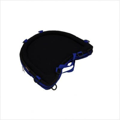 Trabasack Curve - Trabasack Curve Connect Wheelchair Velcro Covered Lap Tray and Storage Bag Trim Color: Blue
