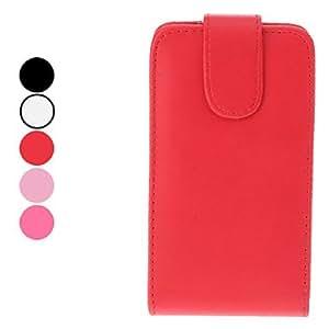 Alta calidad PU Funda de piel para Samsung i9100 Galaxy S2 (colores surtidos) , Rojo