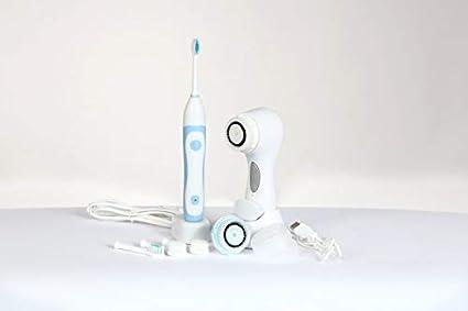 Cepillo Facial Sonico y Cepillo de Dientes Sonico. Paquete De Regalo De Dos Productos