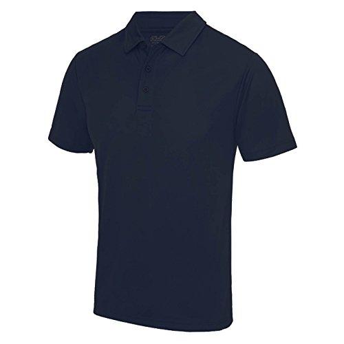 AWDis Cool Herren Poloshirt Blau Marineblau xxl