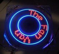 Everflow 80mm x 25mm Programmable LED Case Fan