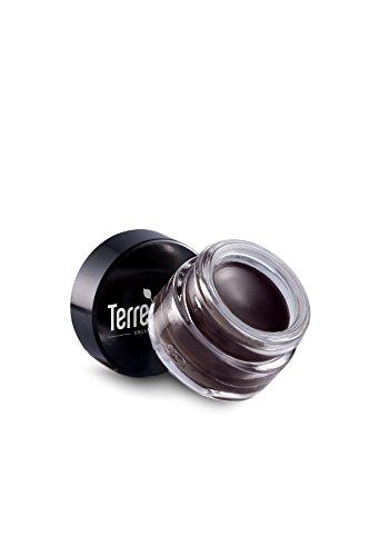 Indelible Eyebrow (Terre Mere Cosmetics Indelible Gel Brow, Dark Brown)