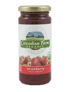(Cascadian Farm: Organic Strawberry Fruit Spread (1 x 10 OZ))