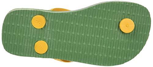 Enfant Havaianas Mixte Bamboo 0078 green Brasil Vert Logo Tongs qqBOv1