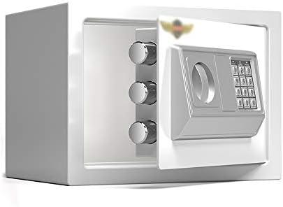 XSJZ Caja Fuerte Cajas Fuertes Mecánicas, Seguridad de Contraseña Pequeña de 25 Cm Caja Fuerte de Acero Antirrobo de Micro Costuras for Gabinete Invisible de Oficina En Casa Cajas Fuertes: Amazon.es: Bricolaje