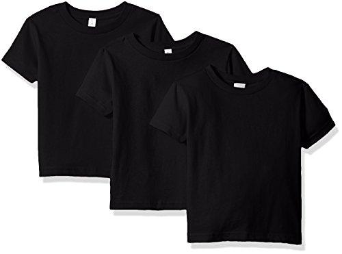 Clementine Apparel Girls Short-Sleeve Basic T-Shirt Three-Pack