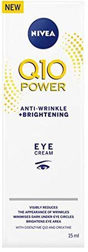 (Nivea Q10 Power Anti-Wrinkle + Firming Eye Cream 15ml (Pack 2))