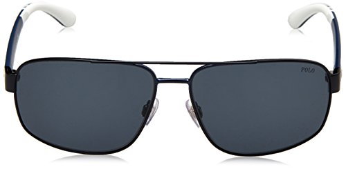 Blue Navy Ph3112 Sunglasses Polo Matte Men's Grey qZwyO6