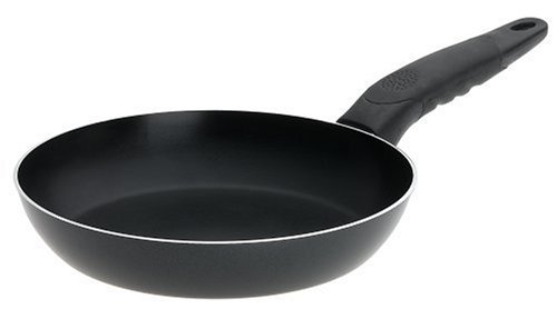 Mirro A79702 Get A Grip Aluminum Nonstick Fry Pan Cookware, 8-Inch, Black