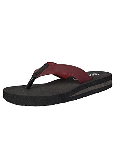 Senso Ladies Maroon Painless Slippers