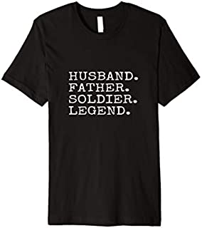 [Featured] Husband Father Soldier Legend Dad Father's Day Gift Idea Premium in ALL styles | Size S - 5XL