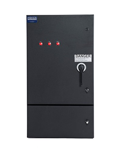 Power Assemblies Company Switch, 60A, Standard Circuit Breaker, 120/208V, 3-PHASE, Double Neutral Female, Ground Female, NEMA 3R, Power Distribution Enclosure ()
