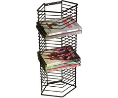 Atlantic 1331 Onyx 28 DVD/Games Tower - Matte Black Steel
