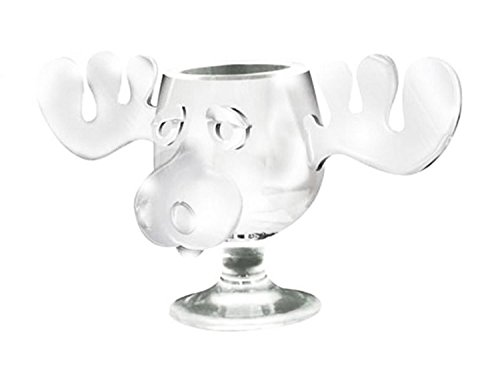 ICUP National Lampoon's Christmas Vacation Griswold Moose Mug, 8 oz, Clear (Mugs Christmas 1)