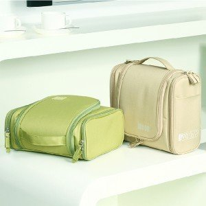 Carrying a portable multifunctional bag in bag color cotton storage Japanese cosmetic bag wash bag