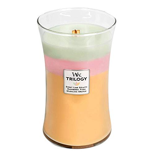 WoodWick Summer Sweets Trilogy Large Jar Scented Candle