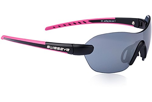 Swiss Eye Horizon Black Matt/Pink